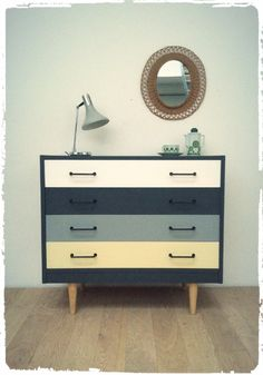 Grande Commode Vintage Revisitée via OOMPA. Click on the image to see more!