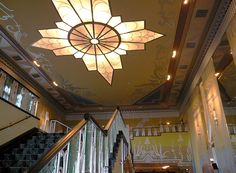 Picture of Spokane Attractions: Lobby of the Fox Theater in Spokane Washington