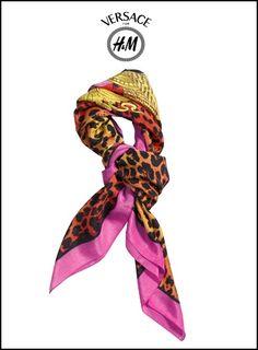 Versace for H Accoutrement, Echarpe, Tenue, Nouer Foulard, Accessoires  Bijoux, Recherche f175f0fcfb8