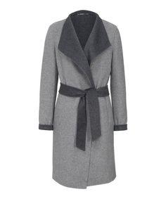 BRAX Style Lausanne »Kurzmantel in winterlichem Wollmix« für 169,95€. Damenkurzmantel, Kragen: Schalrevers, Ausschnitt: V-Ausschnitt bei OTTO