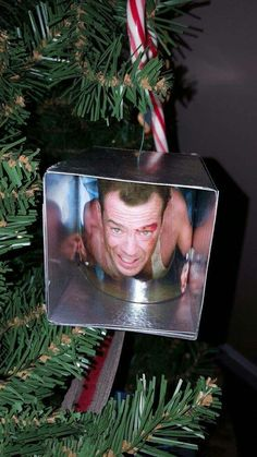 Diehard Christmas ornament decoration Bruce Willis best ornament ever !!!!!!
