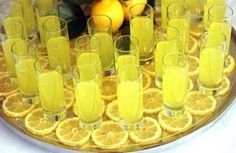 Lemon Drop Shots - These bring back some good memories for me!