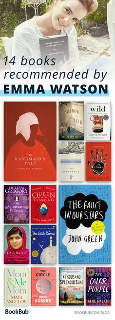 This is Emma Watson's (aka Hermione) reading list. This collection features witty, feminist, inspiring books to reads.