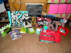 Kappa Delta Big/Little Reveal gifts!