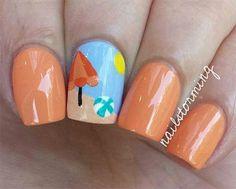 Beach Nail Art Designs Great Nails Cute Themed