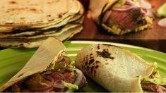 Rachel Ray's Carne Asada Tacos with Chipolte Guacamole