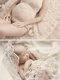 Wedding dress/veil for baby girl