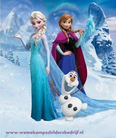 Frozen, Elsa, anna, olaf, 42957; wandposter; fotobehang
