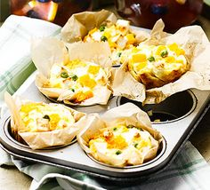 These mini Italian omelettes, with butternut squash and cheese, are baked in individual cases ready to be packed up for a picnic