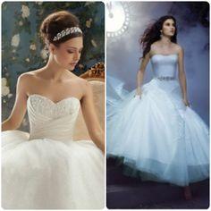Cendrillon, Disney, princesse, princess, mariage, wedding, robe , wedding dress, gown, alfred angelo