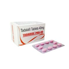 Buy Tadarise Pro 40mg Online is another name of Tadalafil. It is a medium potency medicine to cure erectile dysfunction. It relaxes and improves blood flow to certain parts of the body. It's most common use is in improving sexual performance in males.