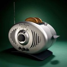 The Radio Toaster | | 5 Toasters Straight From the Jetsons. Now I can sing and make dogs bark AND make toast at the same time?! WHAT EVEN?!
