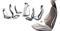 Tata Megapixel Concept - Interior Design Sketch