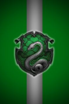 Slytherin iPhone wallpaper 2 by technoKyle on deviantART
