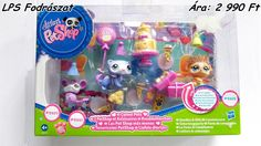 Jön a KARÁCSONY!!! Érdeklődj nálam!!!  Little Pet Shop fodrászat  Eredeti! Új! LPS fodrászat  Új! Bontatlan csomagolású! LittlePetShop fodrászat játék csomag  Bolti ár: 6 990 Ft