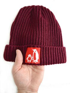 Trawler Penguin Beanie, By Rollus1 On Etsy
