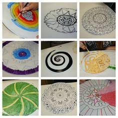 Eye Pop Art: High school artists make beautiful mandalas