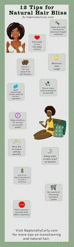 Tips for natural hair