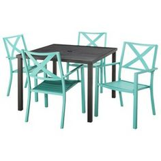 Threshold Harriet Rectangular Patio Dining Table