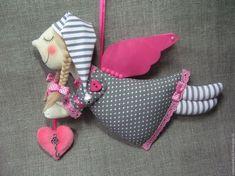 Best 12 Tina's handicraft : fabric creations Christmas Angels, Christmas Crafts, Christmas Ornaments, Ribbon Design, Love Craft, Soft Dolls, Felt Art, Soft Sculpture, Crochet For Kids