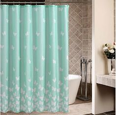 Joybuy Small Fresh White Butterfly Blue Shower Curtain Waterproof Mouldproof Anti Bacteria Shower Curtain 72x72-inch Shower Curtain Polyester Fabric Material JOYBUY http://www.amazon.com/dp/B00MB33P1U/ref=cm_sw_r_pi_dp_pn9Gub0C7HCXR