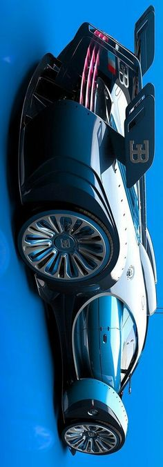 The Bugatti was unveiled in Paris in 1991 and went into production until Bugatti went out of business in 1995 (Bugatti has since been resurrected by Volkswagen). The car was available as a two-door sports car and only 31 cars were produced. Bugatti Veyron, Bugatti Cars, Bugatti Bike, Exotic Sports Cars, Exotic Cars, Jets Privés De Luxe, Automobile, Sweet Cars, Limousine