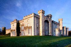 Bodelwyddan Castle in Wales! It's haunted!