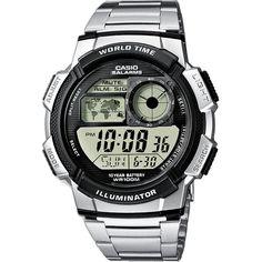 26b2ddc8a2a Casio Ae-1000Wd-1AVEF Mens Combi Bracelet Watch Relógio Casio