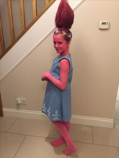 Princess Poppy costume Troll Movie Mehr  sc 1 st  Pinterest & 11 DIY Halloween Hairstyles for You and Your Kiddos | Pinterest ...