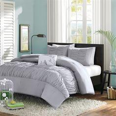 The Mirimar Comforter Set creates an opulent look for your bedroom to update…