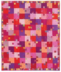 Pink Tulip Quilt Kit is 55% off during our CyberMonday sale. What 'tween girl wouldn't love it?