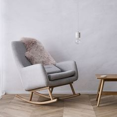 Norse Rocking Chair Grey