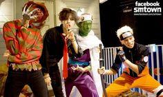 Have a happy Halloween. (It looks it's SHINee). Kpop Halloween Costume, Halloween Party, Halloween 2013, Happy Halloween, Shinee Debut, Shinee Taemin, Scary Vampire, Best Kpop, Kim Kibum