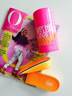 Our famous Invisible Heels were selected by Oprah's O Magazine as one of Spring's top picks!