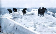 Stunning photos reveal brutal conditions during Arctic Convoys The cost in lives was horr. List Of Countries, Countries Of The World, Merchant Navy, Royal Marines, Coal Mining, Red Army, Navy Ships, Royal Navy, World War Two