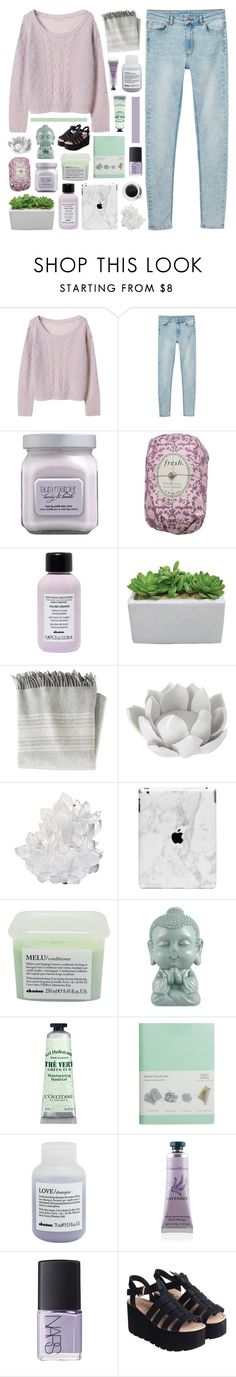 """""""♡ day one / it's our world so you know it's going down"""" by lie-ability ❤ liked on Polyvore featuring Monki, Laura Mercier, Fresh, Davines, L.L.Bean, Pavilion Broadway, McCoy Design, L'Occitane, Paperthinks and Crabtree & Evelyn"""