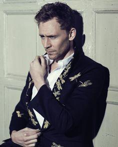 Tom Hiddleston in Flaunt Magazine