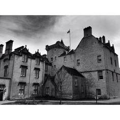 Back of Brodie Castle