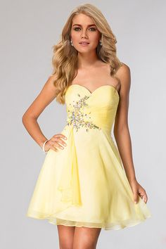 75621ed3ae17 2015 Simple Style Homecoming Dresses A Line Sweetheart Short Mini Chiffon  Beaded Best Homecoming Dresses