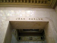 """Jean Harlow - Actress. While only in the spotlight for ten short years, life was cut short by her untimely death. She appeared in forty one movies, was voted to the American Film Institute's list of the greatest actresses of the Golden Age and became the first movie actress to appear on the cover of Life Magazine. Her first feature film """"Hell's Angels"""" drew an estimated crowd of 50,000 people at Grauman's Hollywood Theatre during its Premier."""