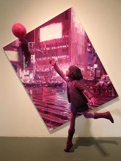 New Childhood-Inspired 3D Paintings by Shintaro Ohata - My Modern Met Wow this is nearly exactly where I want my art to go!