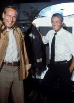 Steve McQueen, Paul Newman | Back set of The Towering Inferno | 1974 | as Chief Mike O'Hallorhan