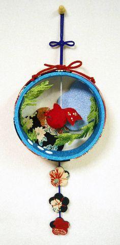 金魚の壁掛け・・・夏・・・ Dream Catcher, Christmas Ornaments, Holiday Decor, Home Decor, Homemade Home Decor, Dreamcatchers, Christmas Jewelry, Christmas Ornament, Interior Design