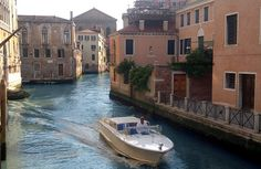 The commute home - Venetian style:http://www.venice-italy-veneto.com/venice-tourism.html