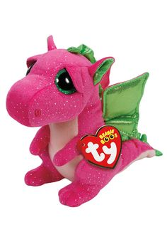 Darla Dragon 6 Inch Beanie Boo (original price, $8.90) available at #Justice