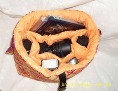 DSLR camera laptop bag Large camera bag Custom by StrappyStyles