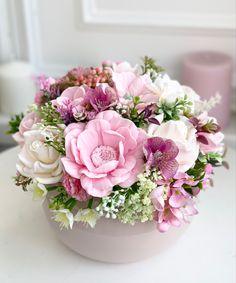 Cold Porcelain, Handmade Soaps, Pretty Flowers, Floral Wreath, Happy Birthday, Presents, Wreaths, Creative, Diy