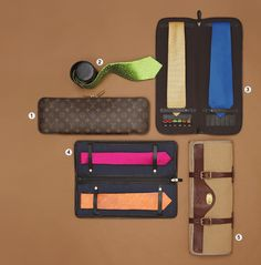 neck tie travel case. perfect gift for a guy!