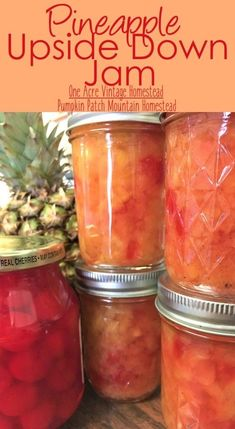 pineapple upside down jam