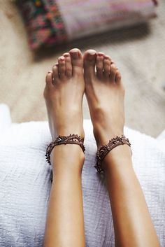 Free People Raindrops Anklet Set at Free People Clothing Boutique